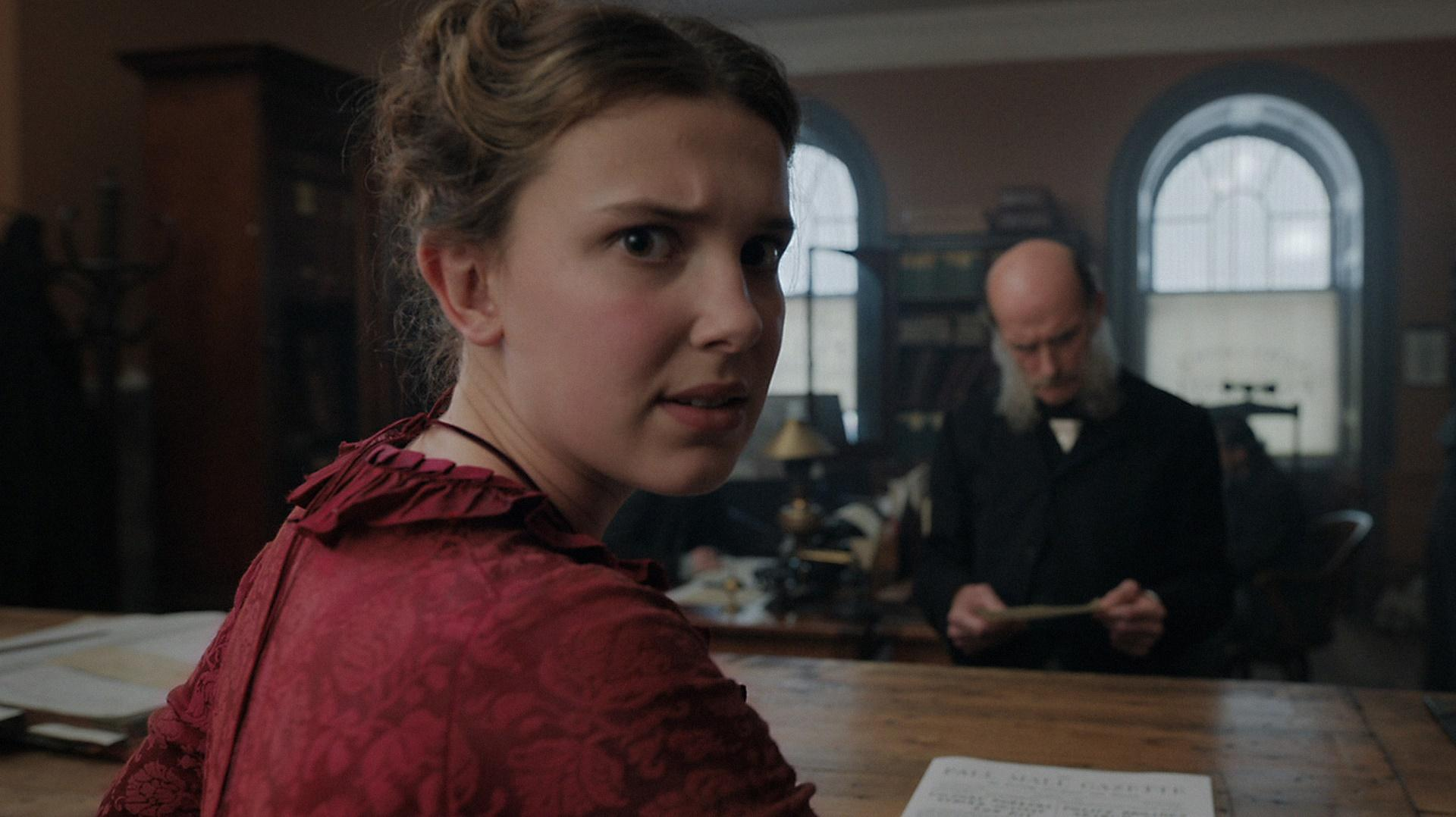Millie Bobby Brown in Enola Holmes