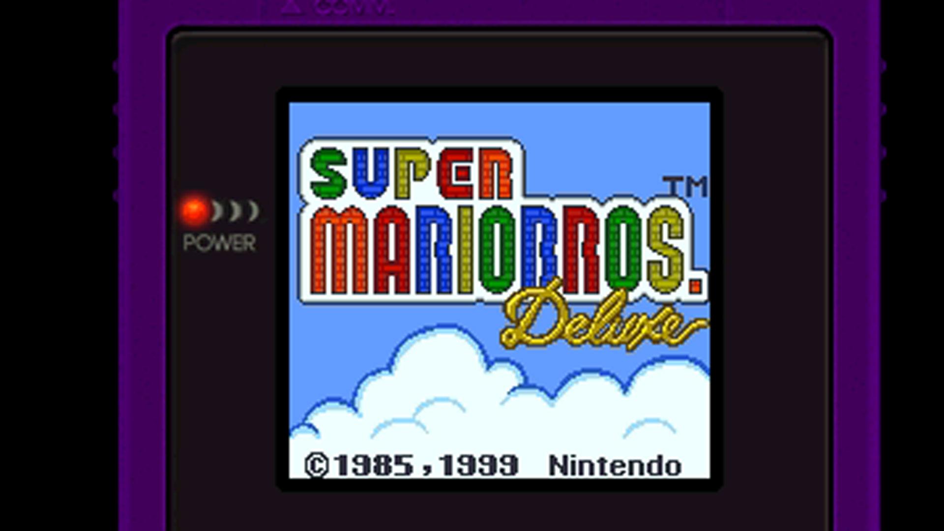 "Screenshot aus dem Spiel ""Super Mario Bros. Deluxe"""