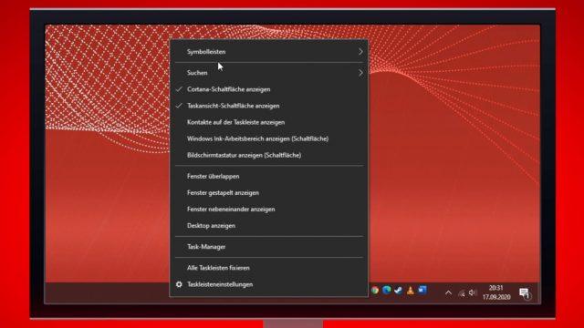 Windows 10: Schnellstartleiste aktivieren
