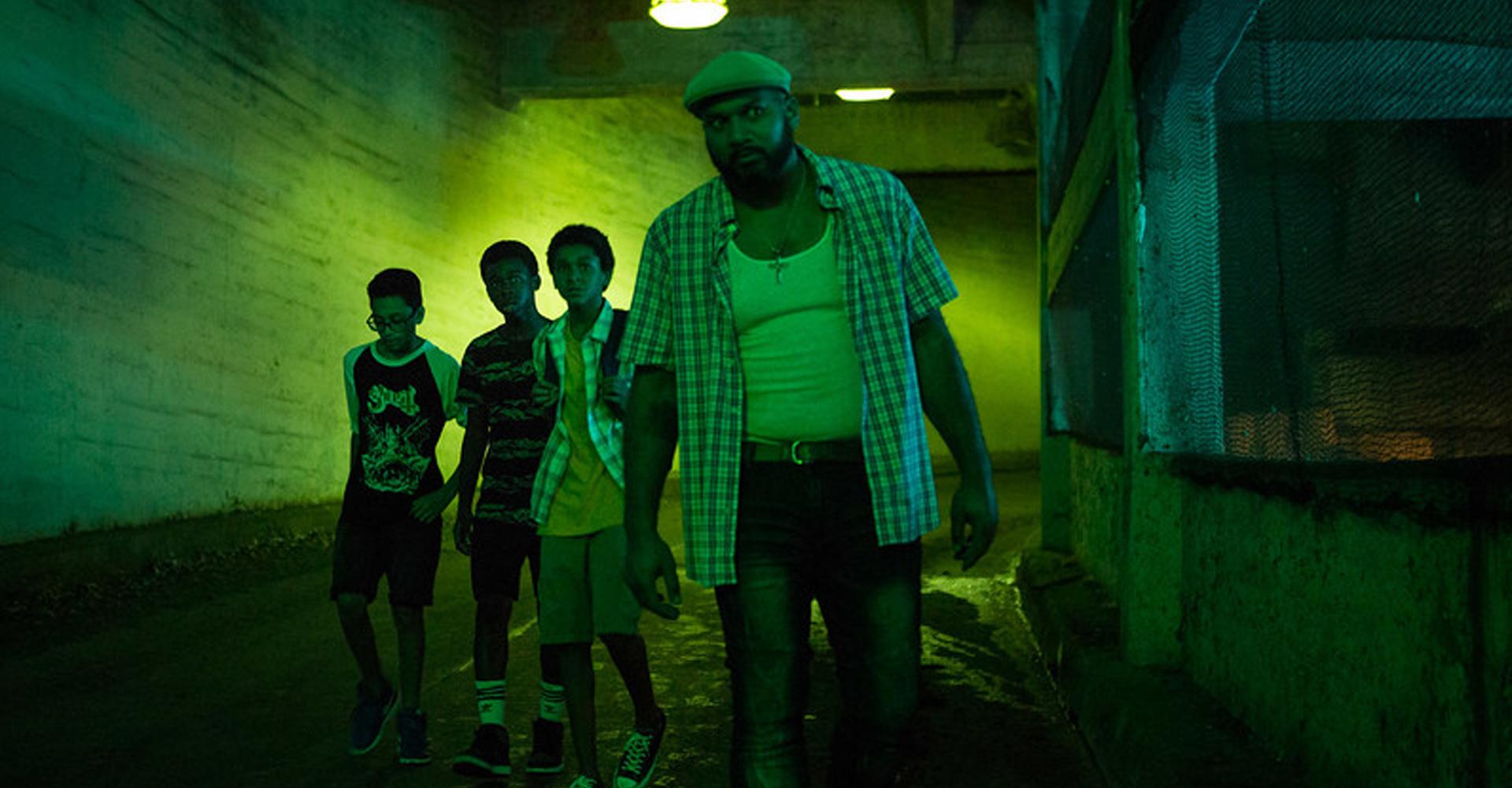 Jaden Michael, Gregory Diaz IV, Method Man, Gerald W. Jones III in Vampires vs. the Bronx