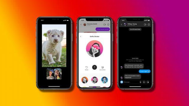 Facebook Messenger und Instagram Direktnachrichten