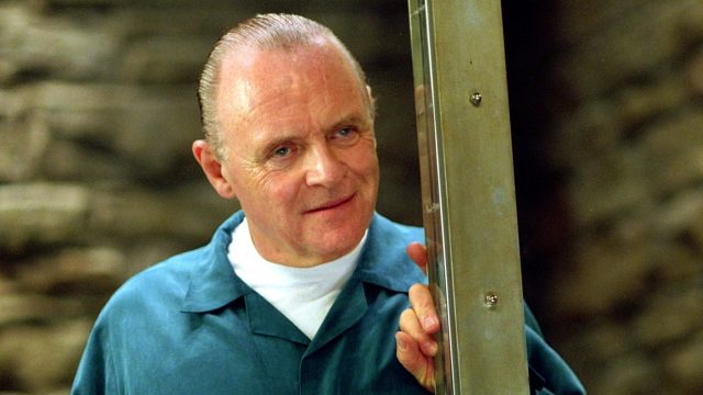 "Anthony Hopkins als Hannibal Lecter in ""Roter Drache"""