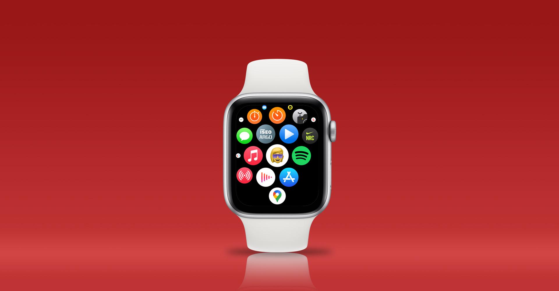 Memoji-App auf der Apple Watch aufrufen