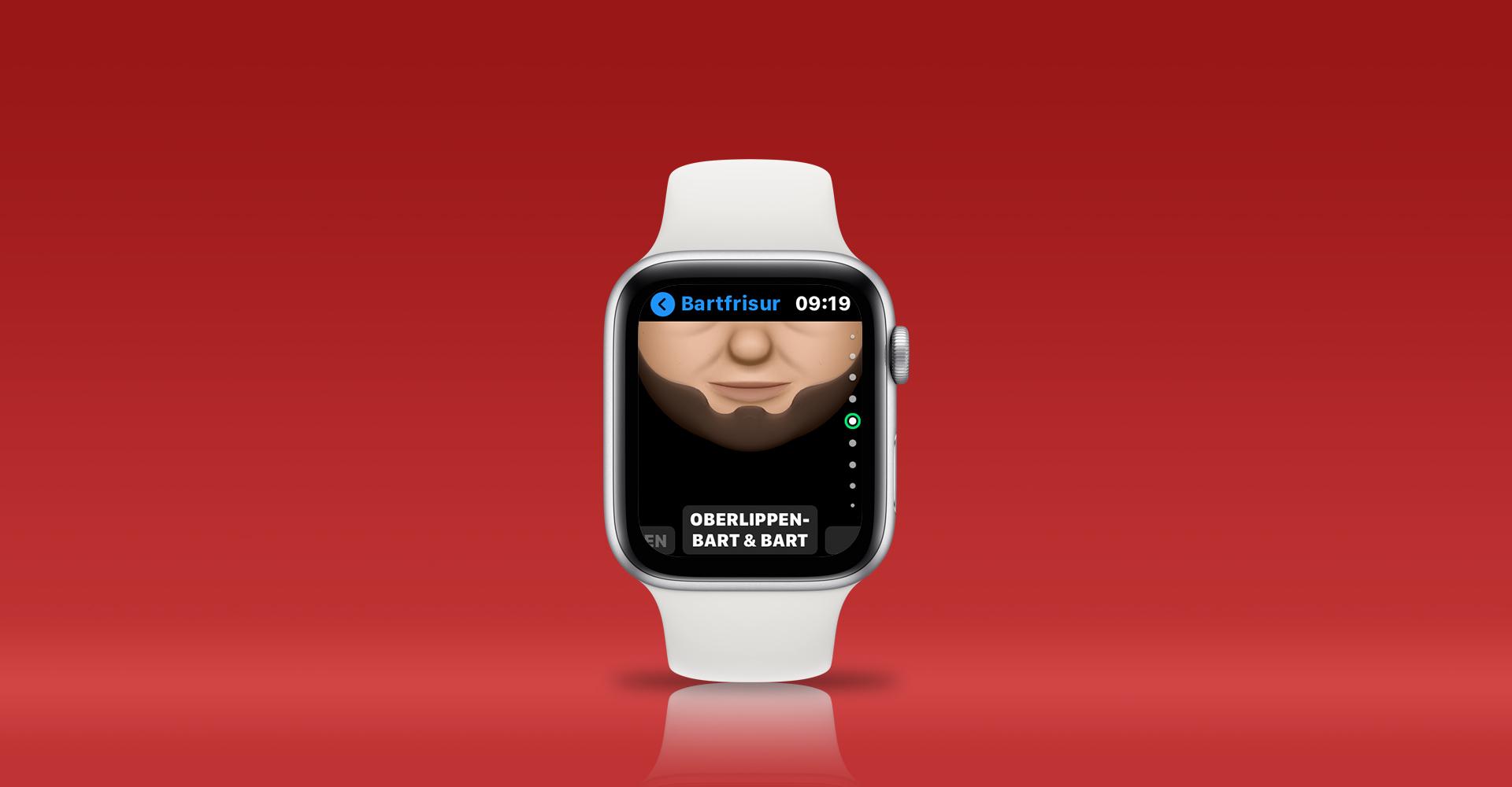 Memoji erstellen auf der Apple Watch