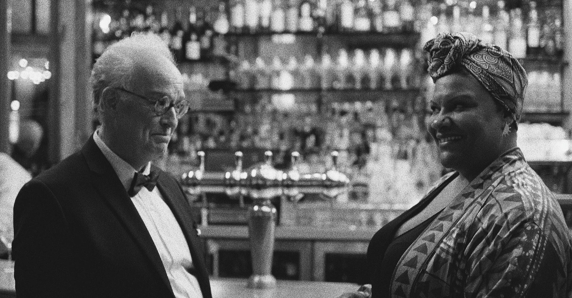Reed Birney und Radha Blank in Mein 40-jähriges Ich