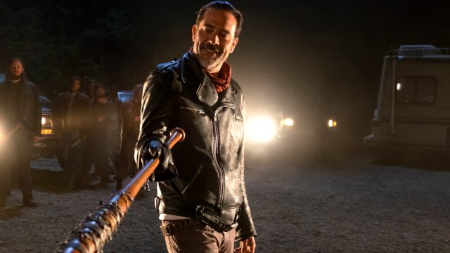 "Negan in ""The Walking Dead"""