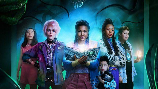 Der Cast von A Babysitter's Guide To Monster Hunting