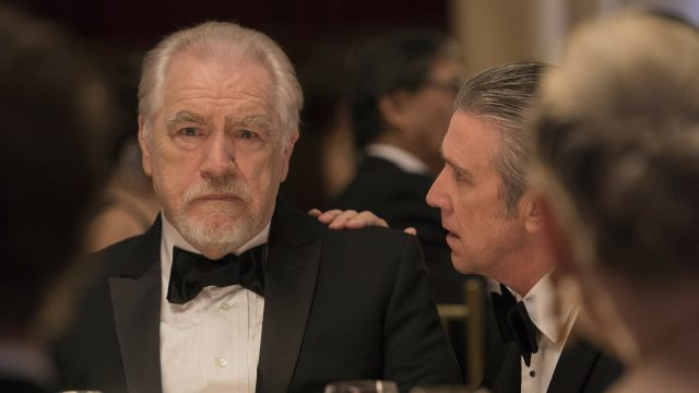 "Brian Cox als Logan Roy in HBOs ""Succession"""
