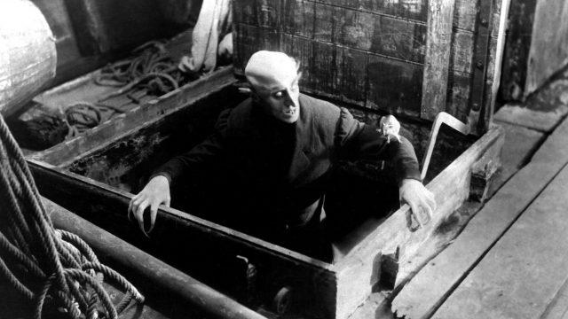 """Max Schreck im Stummfilm """"Nosferatu"""""""
