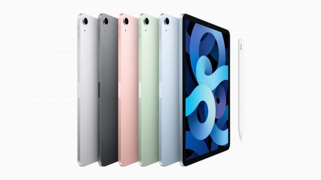 iPad Air 2020 in allen erhältlichen Farben
