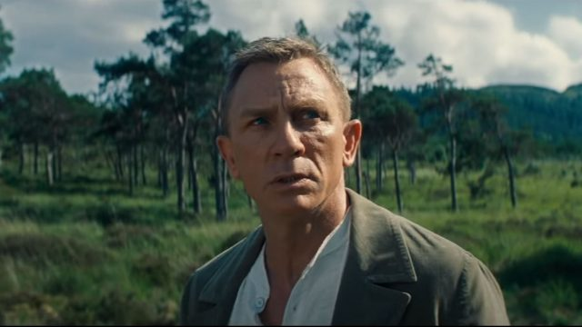 Screenshot aus dem James-Bond-Trailer.