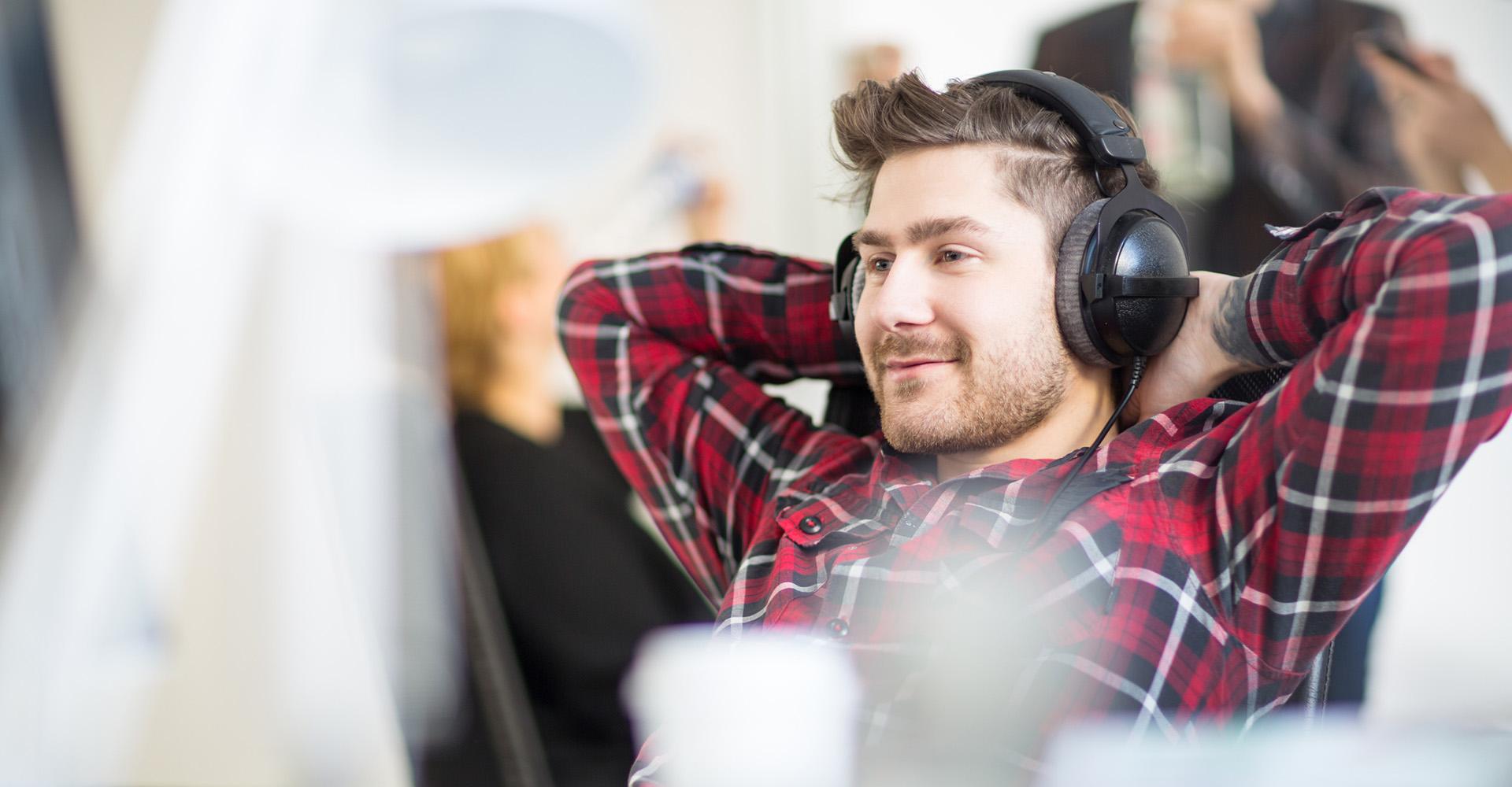 Kopfhörer-Arten: Over-Ears