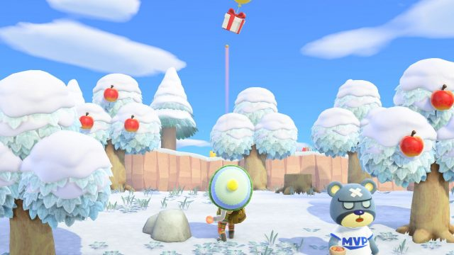 "Der Winter in ""Animal Crossing: New Horizons"""