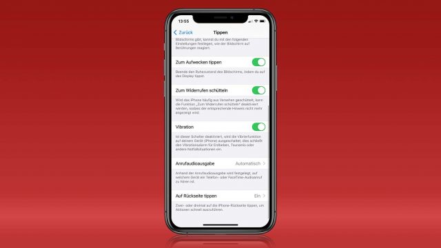 iOS 14: Back Tap einrichten
