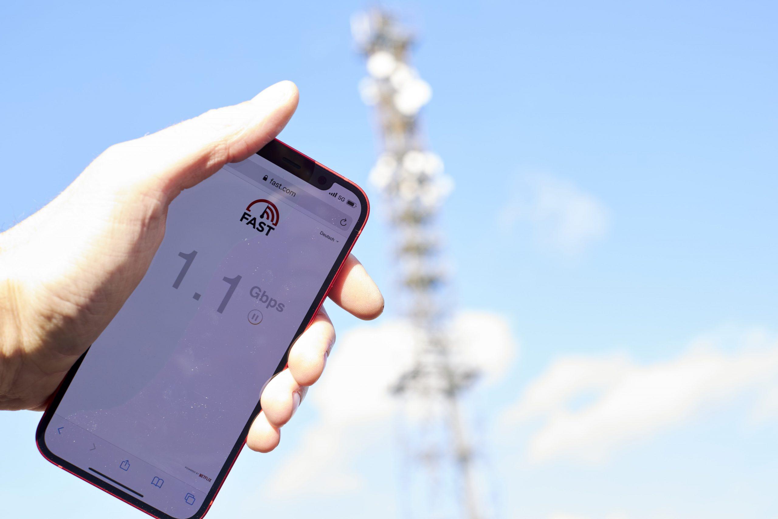 5G Ausbau Vodafone Frankfurt