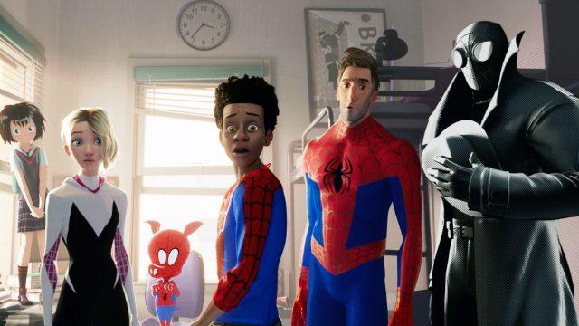 Szene aus Spider-Man: A New Univrse