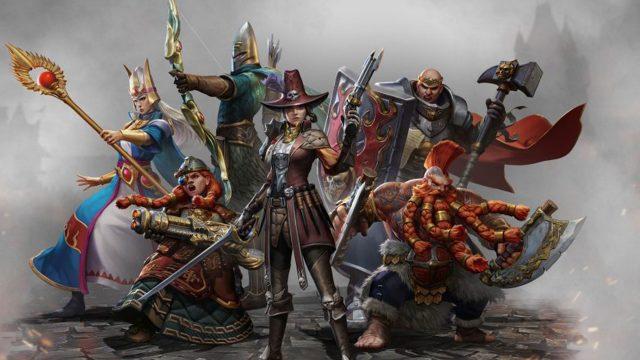 """Die verschiedenen Charaktere, die Du in """"Warhammer: Odyssey"""" spielen kannst."""