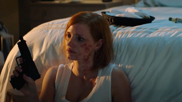 Jessica Chastain in Code Ava