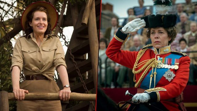 "Claire Foy und Olivia Colman in ""The Crown"""
