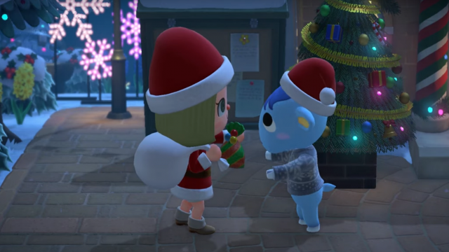 "Screenshot aus dem Trailer für ""Animal Crossing: New Horizons""."
