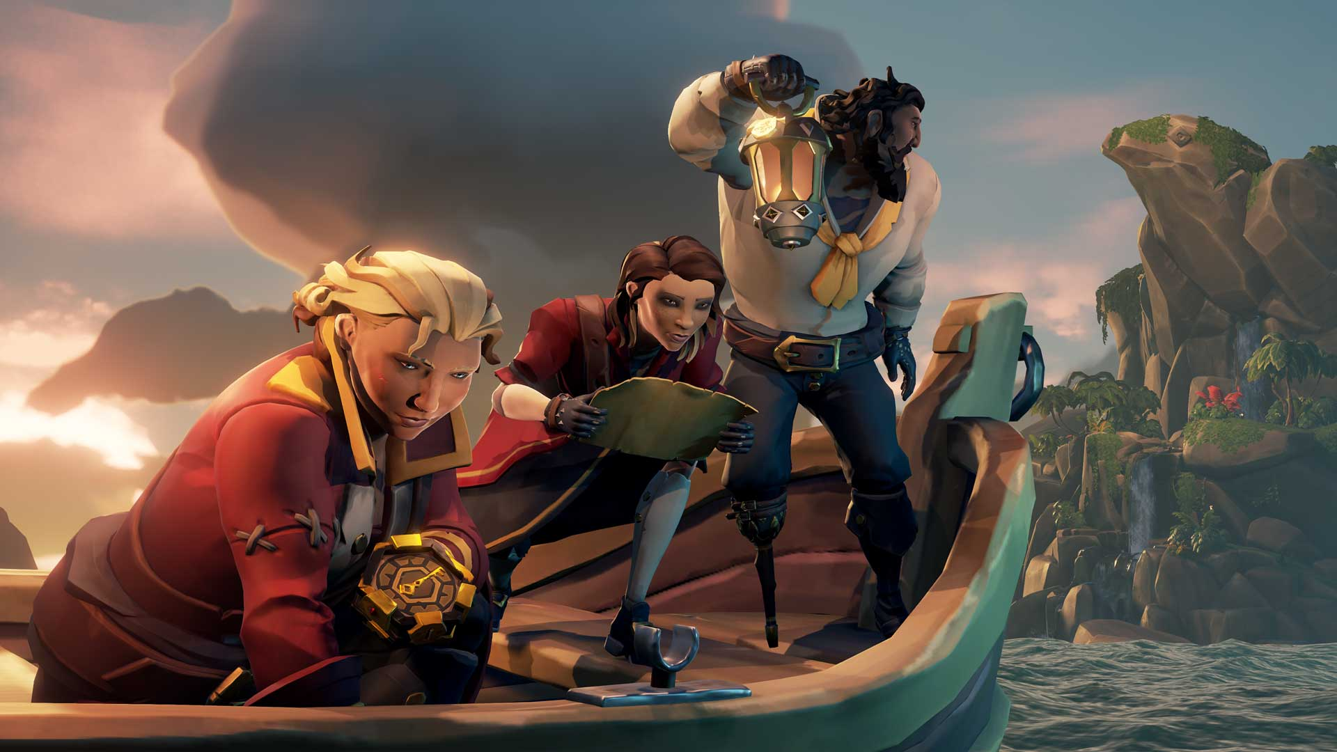 Piraten stechen in See in Sea of Thieves