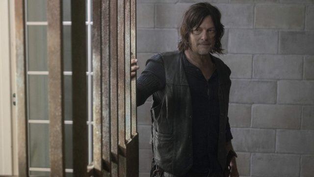 Szene aus The Walking Dead mit Norman Reedus