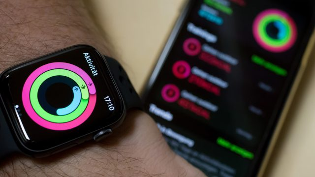 Apple Watch mit iPhone und Apple-Watch-App
