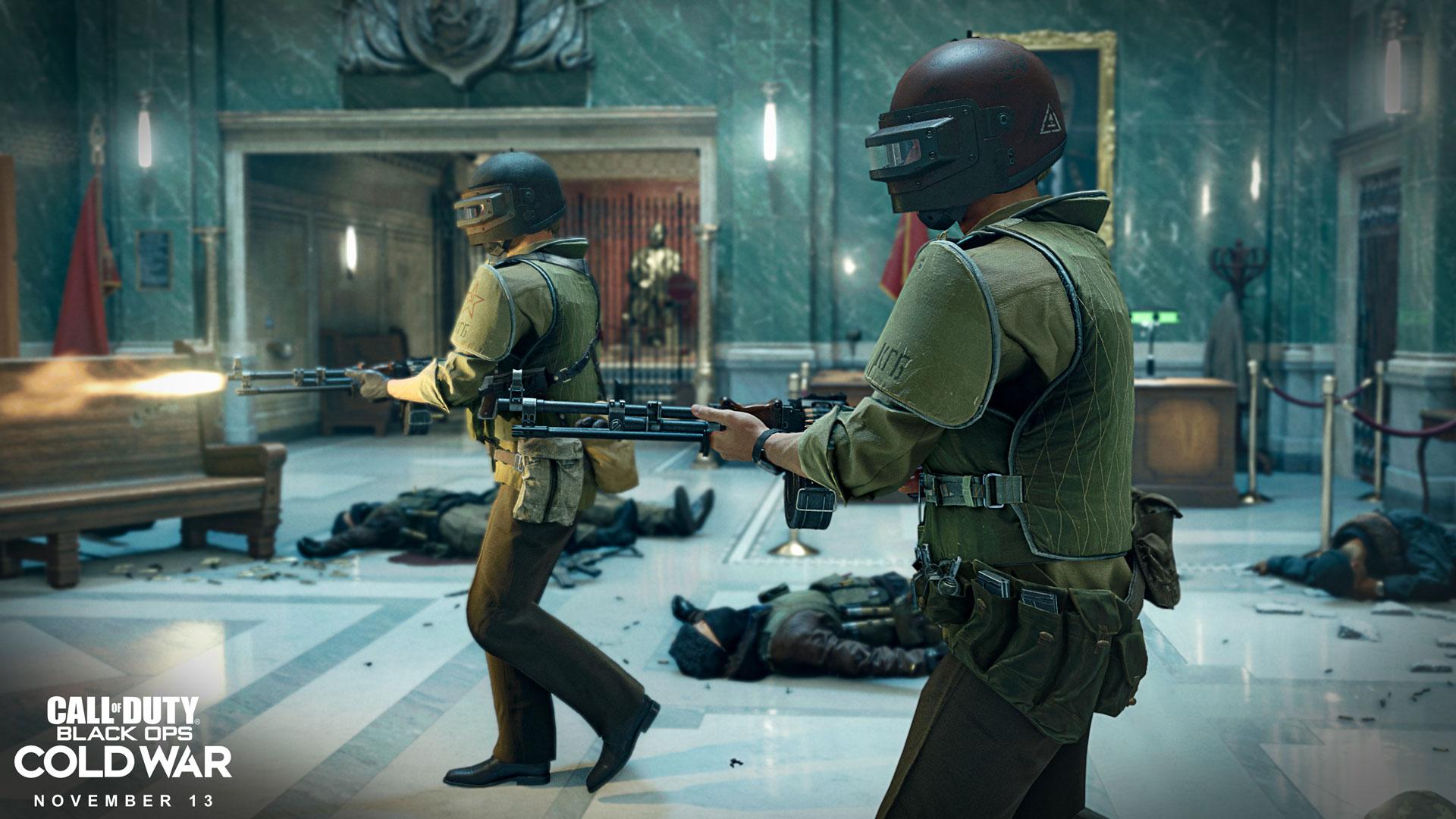 Eine Spielszene aus dem Game Call of Duty: Black Ops Cold War