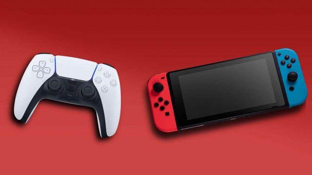 DualSense-Controller und Nintendo Switch