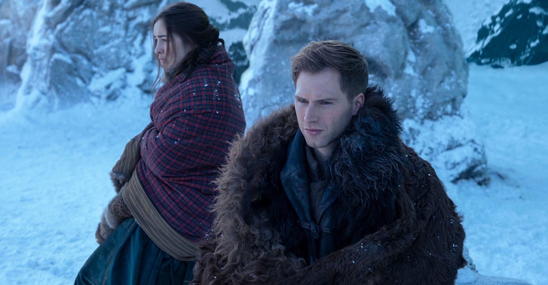 """Nina und Matthias in der Netflix-Serie """"Shadow and Bone"""""""