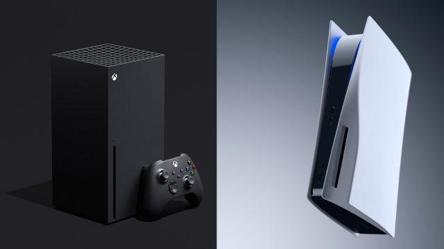 Die Xbox Series X und die Sony PlayStation 5.