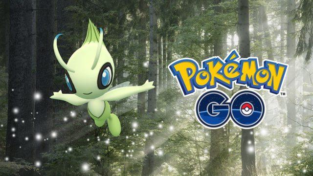 Celebi in Pokémon Go