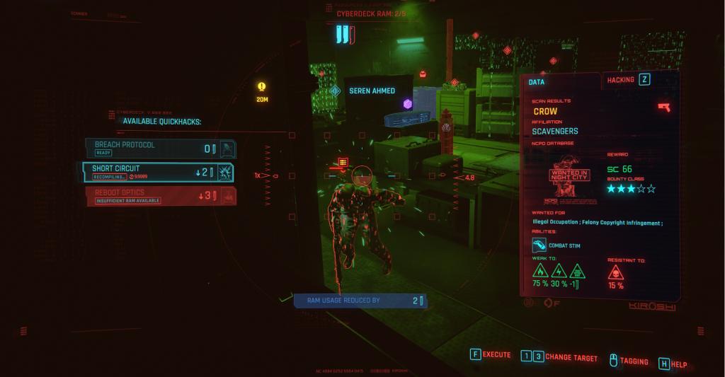 Cyberpunk 2077: Hacken