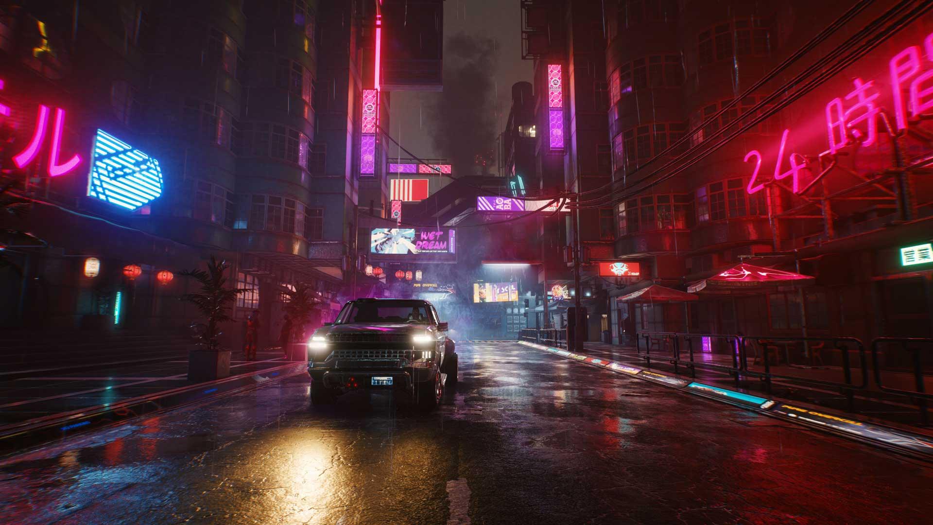 Nachtleben in Cyberpunk 2077