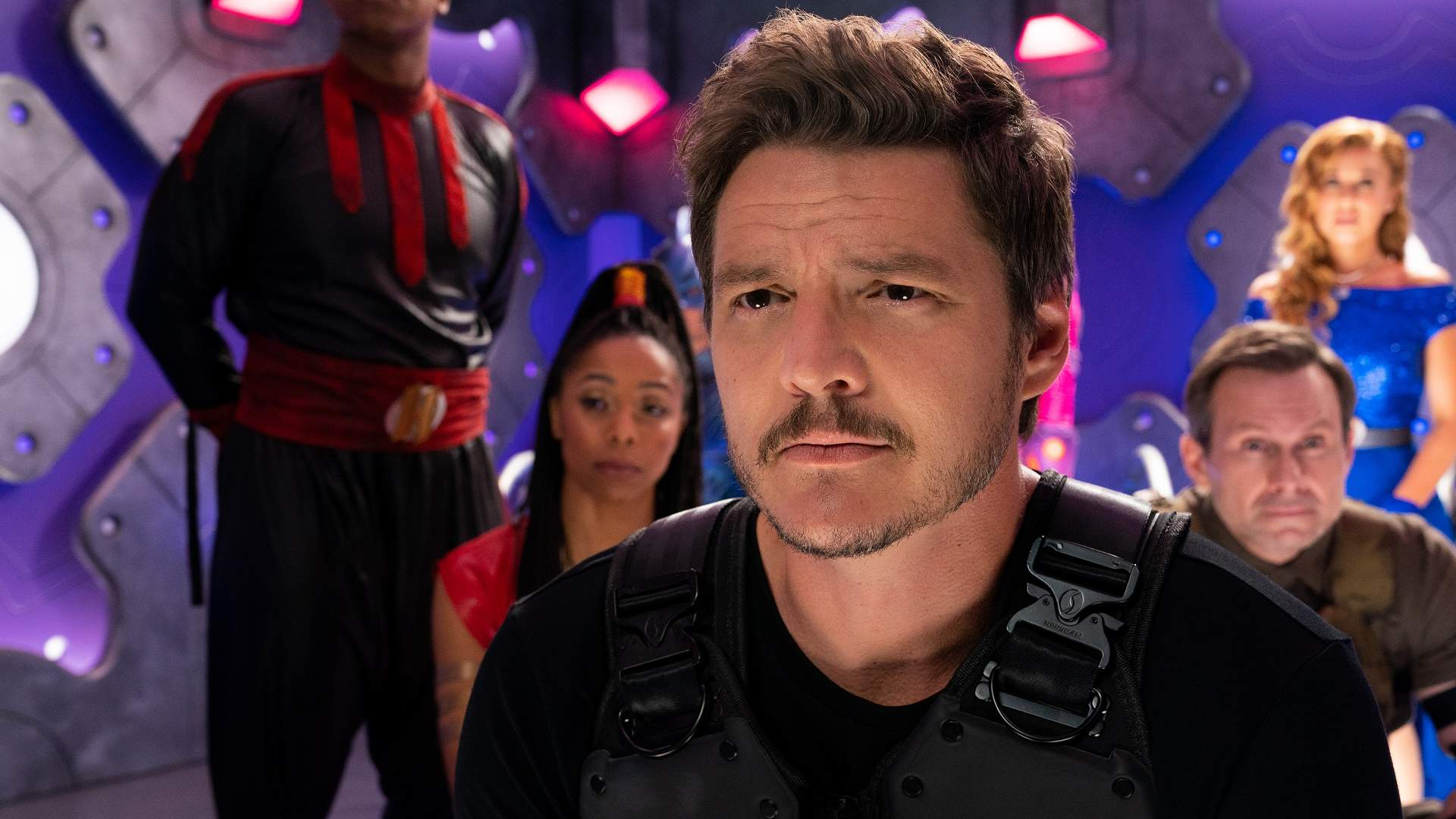 Pedro Pascal in We can be Heroes