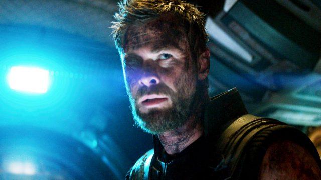 "Thor in ""Avengers: Infinity War""."