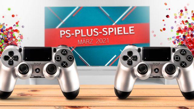 Banner für PS Plus Games März 2021