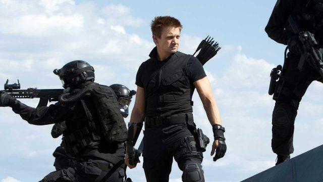 Jeremy Renner in Marvel's The Avengers