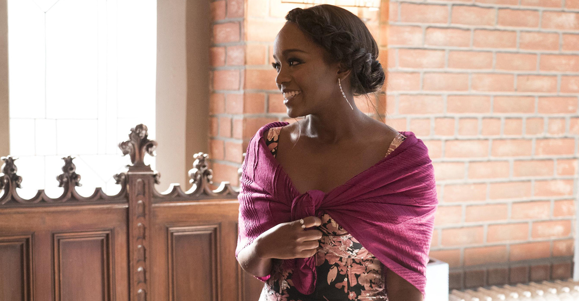 Aja Naomi King in How to Get Away with Murder