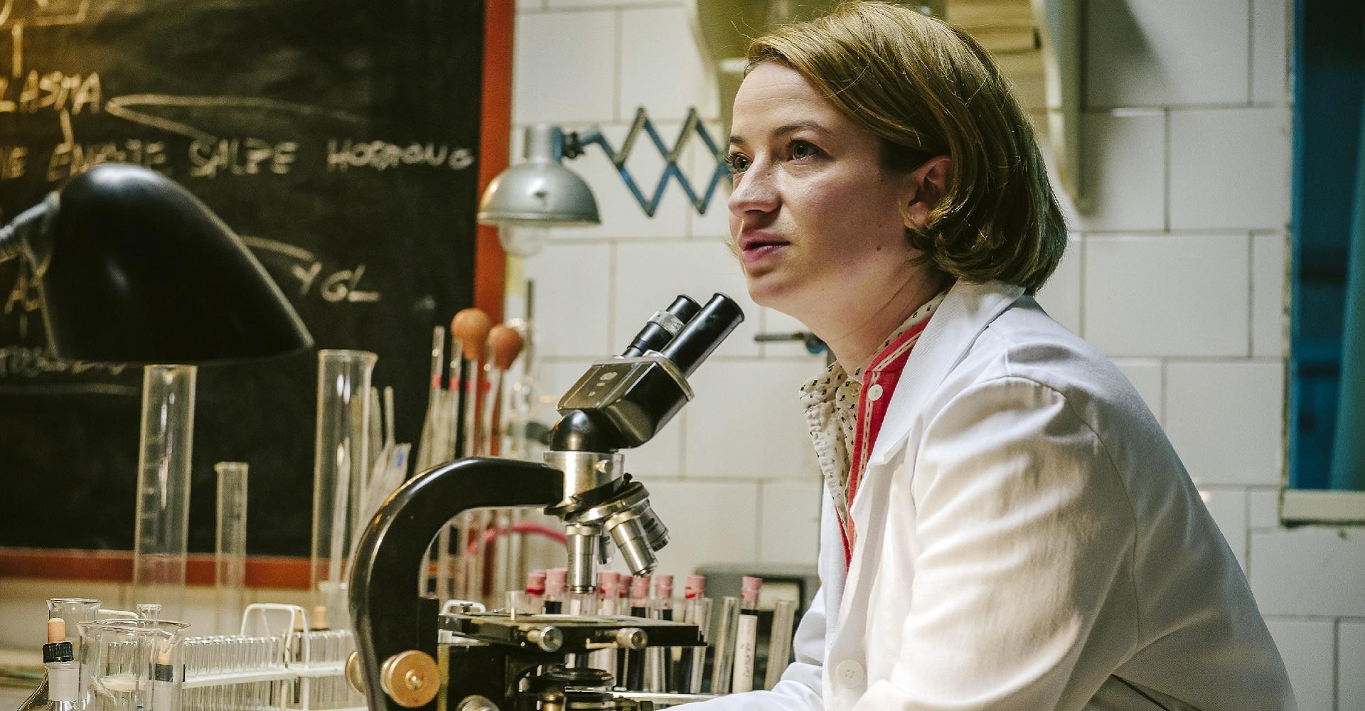 Nina Gummich in Charité