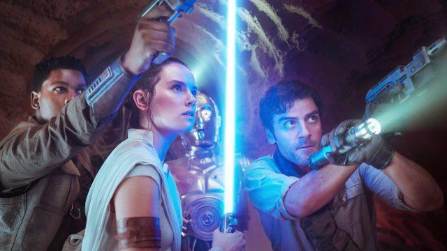 Szene aus Star Wars: Episode IX Der Aufstieg Skywalkers
