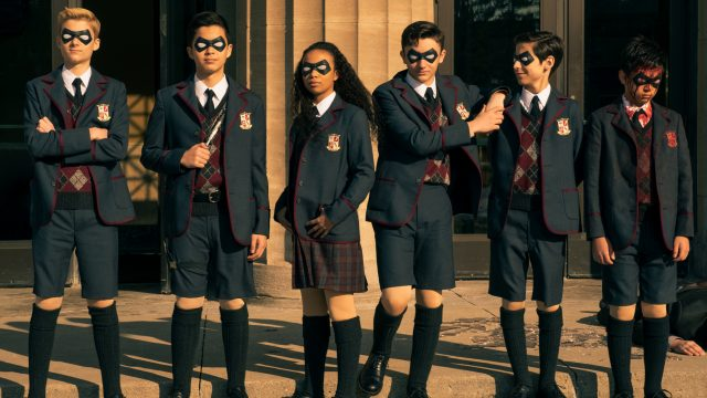 Umbrella Academy Sparrow Academy