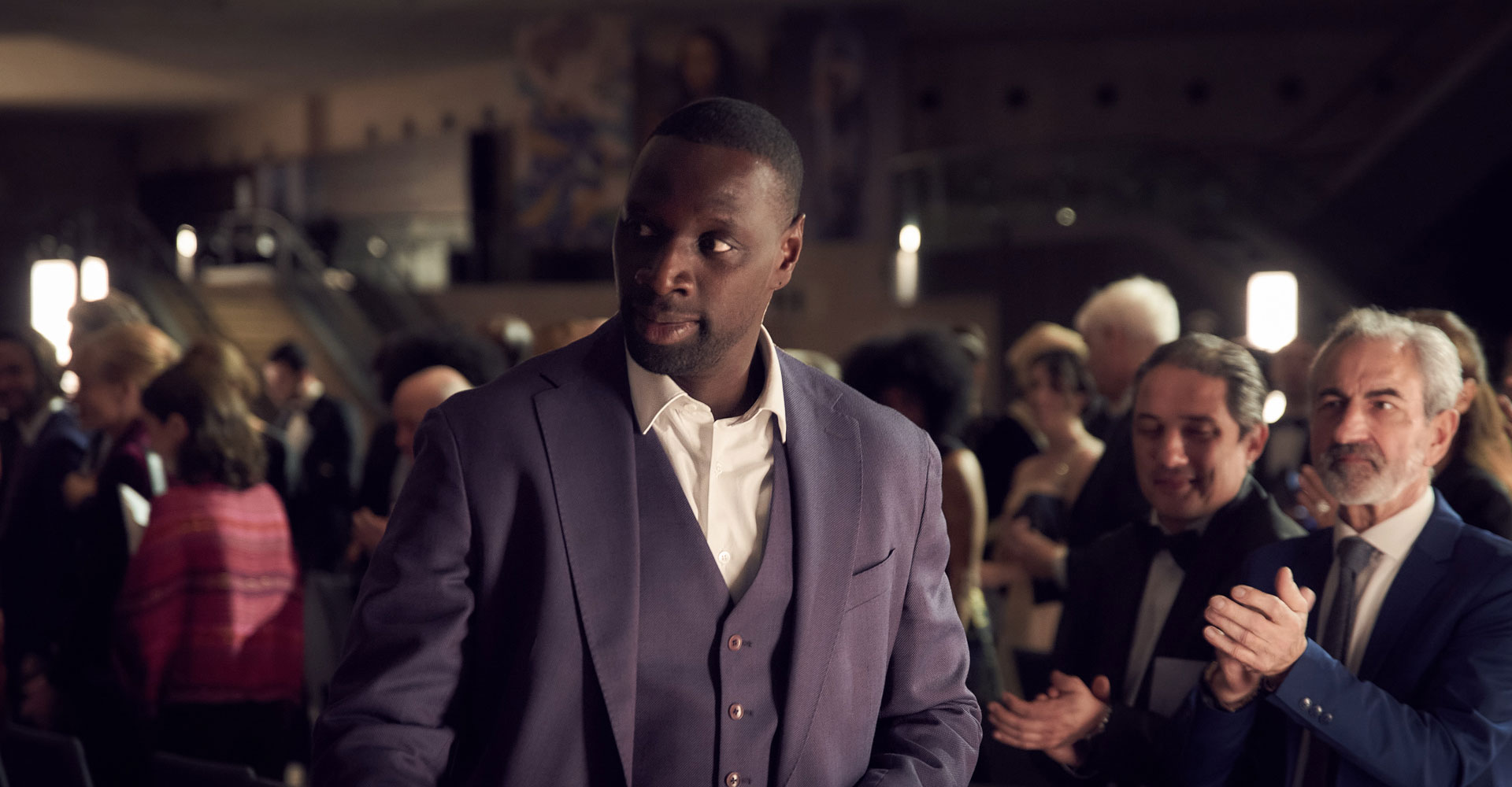Omar Sy in Lupin
