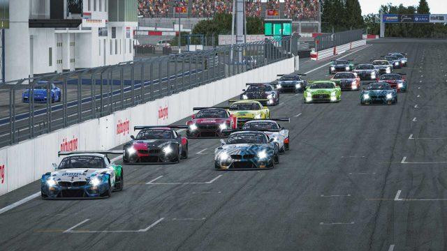 Autorennen TÜV Rheinland 3h-Rennen der Digitalen Nürburgring Langstrecken-Serie 2020/21.