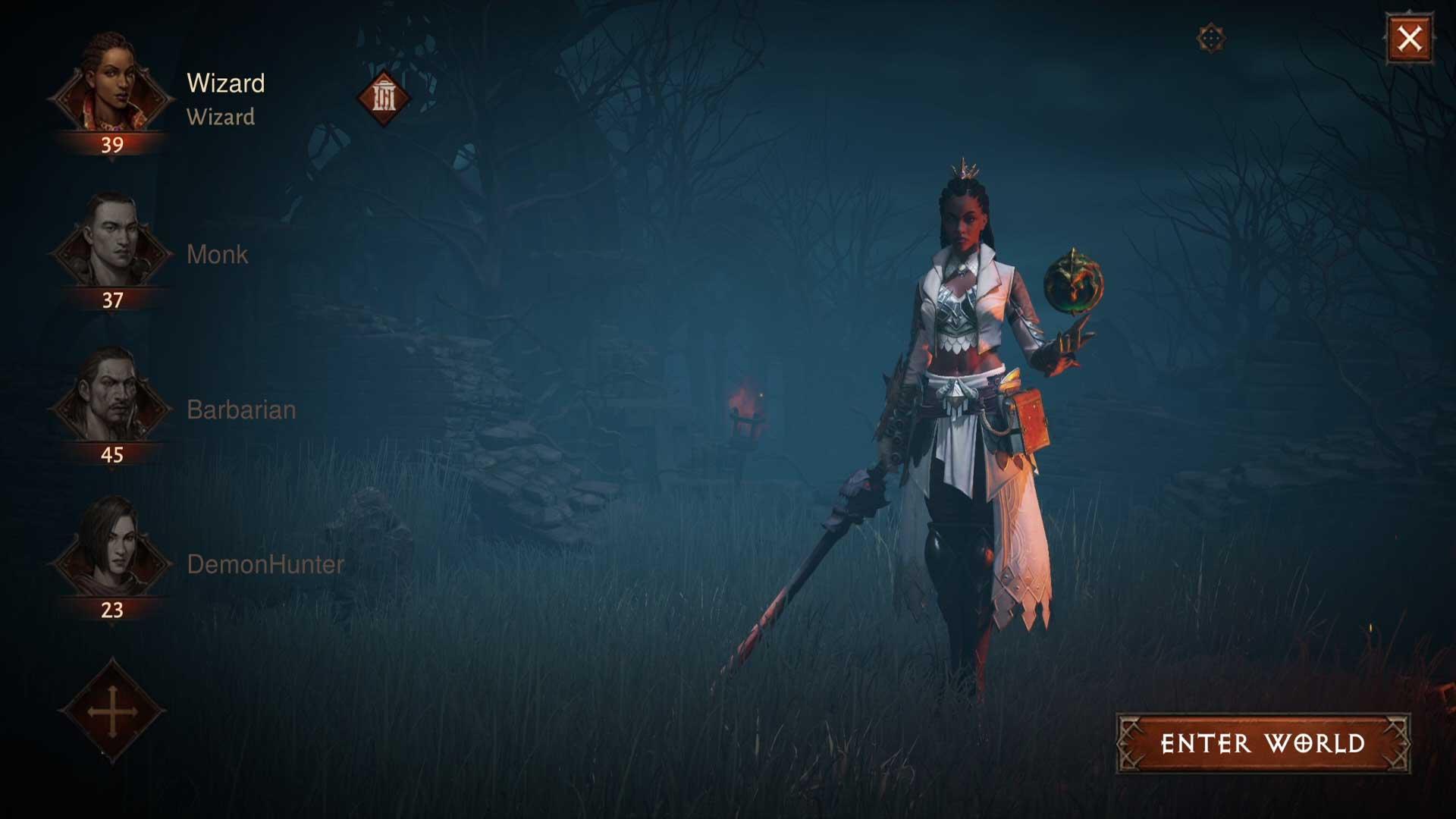 Charaktere in Diablo Immortal