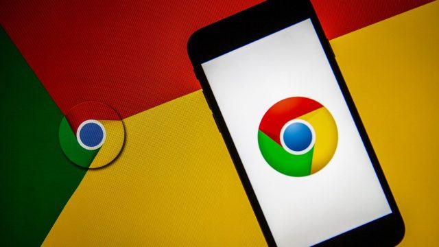 Logo von Google Chrome