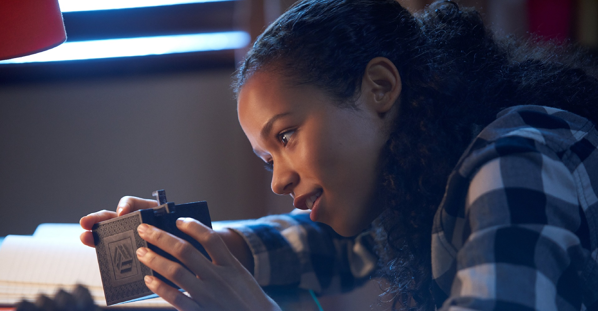 Taylor Russell in Escape Room