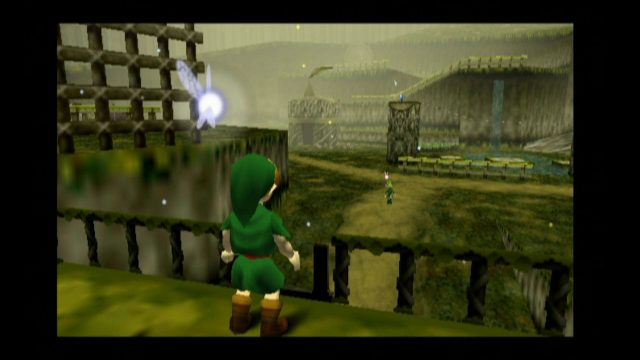 "Screenshot aus der Nintendo-64-Version von ""Zelda: Ocarina of Time""."
