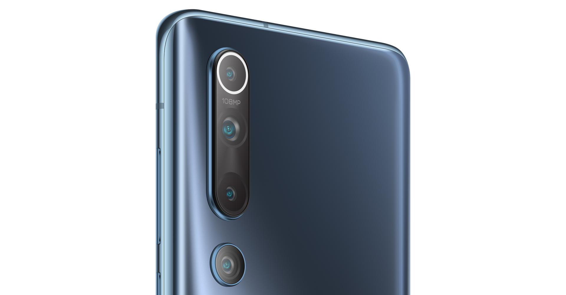 Kamera des Xiaomi Mi 10 auf der Rückseite