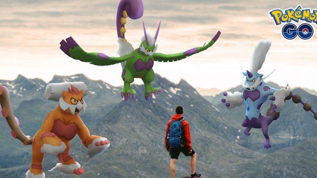 Bild zur legendären Jahreszeit in Pokémon Go.